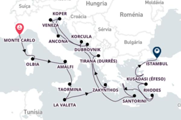 Cruzeiro de 23 dias com o Nautica