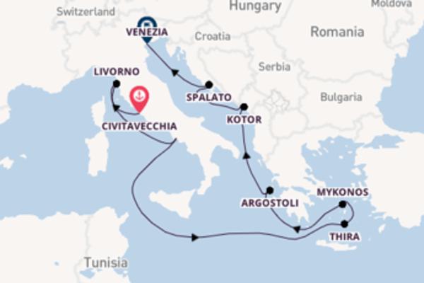 Rilassante crociera di 10 giorni verso Kotor a bordo di Norwegian Jade