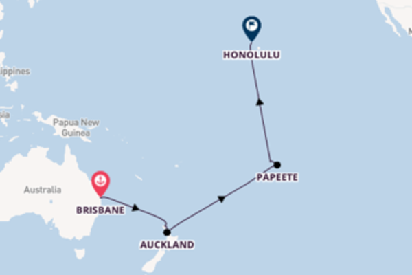 Cruising with Royal Caribbean from Brisbane to Honolulu