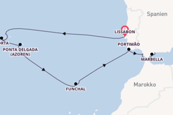 Genießen Sie Marbella, Spanien auf der MS Europa 2