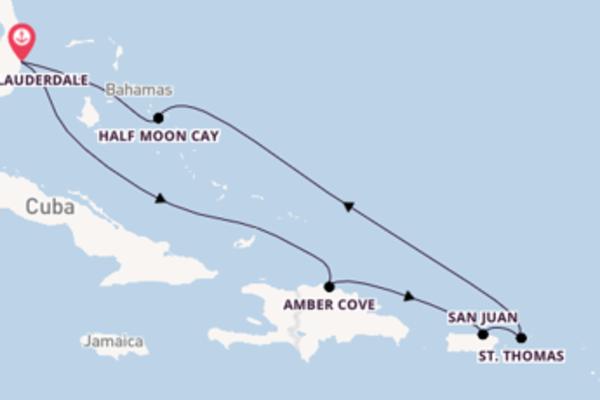 Cruise met Holland America Line naar het mooie Fort Lauderdale