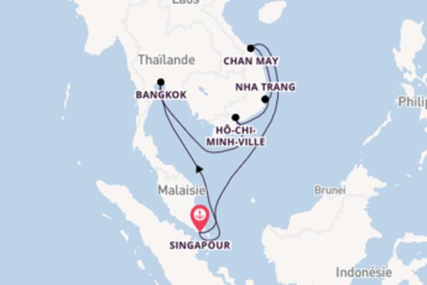 Magnifique virée de 11 jours depuis Singapour