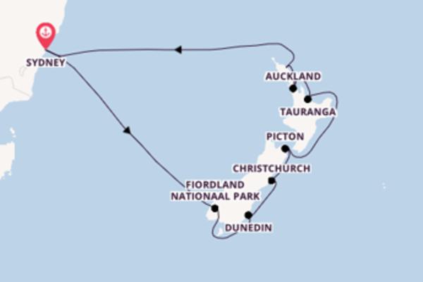 De pracht van het sensationele Picton