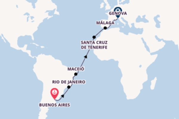 19 giorni da Buenos Aires
