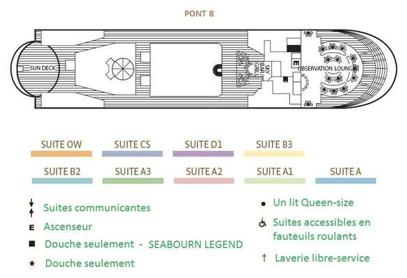 Seabourn Legend Pont 8
