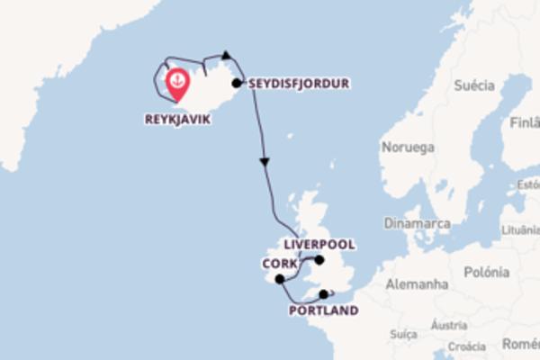 Jornada de 11 dias até Southampton com o Norwegian Star