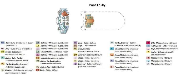 Sapphire Princess Pont 17 Sky