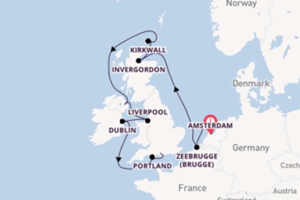 11-daagse reis naar Southampton (Londen)