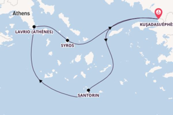 Charmante balade de 4 jours avec Celestyal Cruises