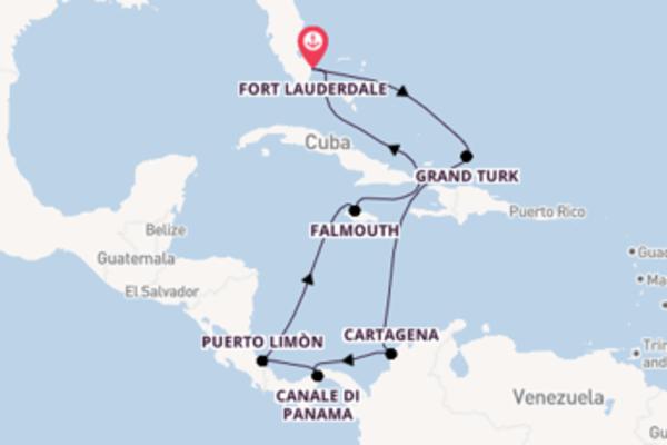 Lasciati incantare da Puerto Limòn partendo da Fort Lauderdale