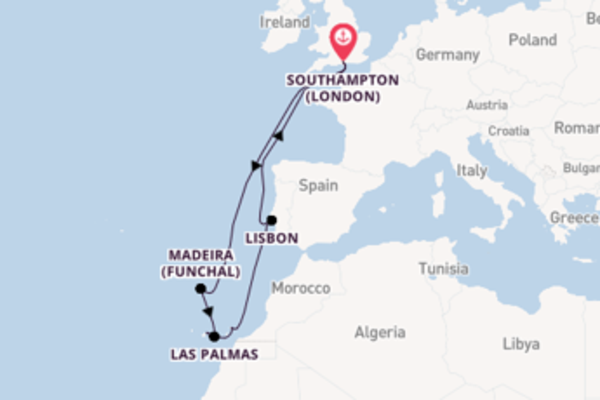 Sail with the Queen Victoria from Southampton