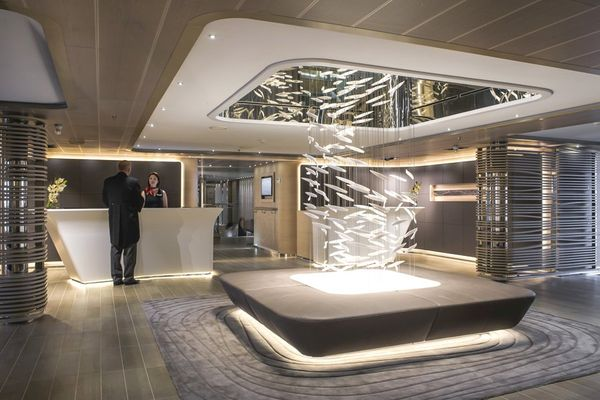 Image result for le soleal ship interior""