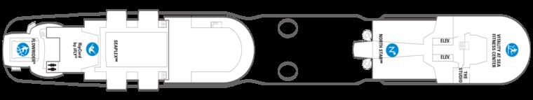 Odyssey of the Seas Deck 16
