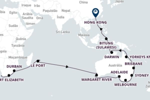 Sublime cruzeiro com a Cunard