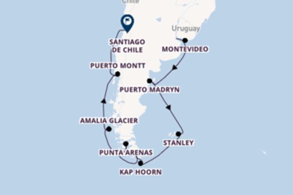 15 Tage Südamerika Kreuzfahrt