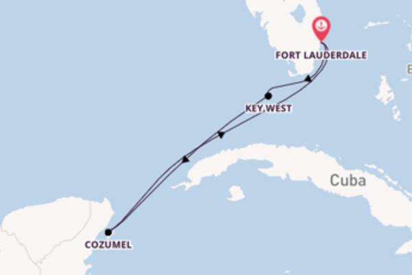 Cruise in 6 dagen naar Fort Lauderdale met Celebrity Cruises
