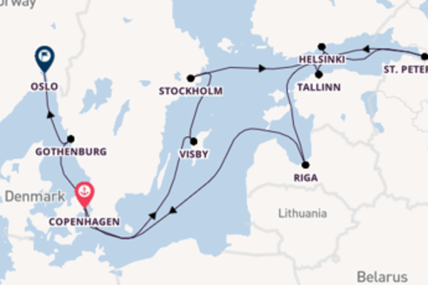 11 day cruise with the Marina to Oslo