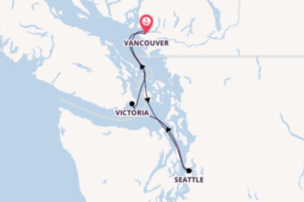 Ga mee op de Koningsdam naar Vancouver