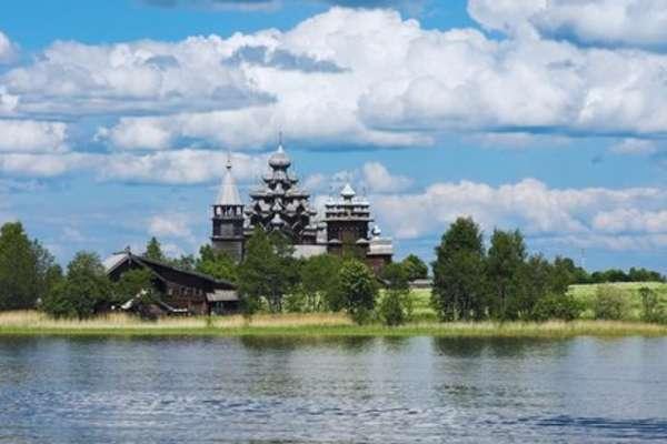 Ile de Kiji, Russie