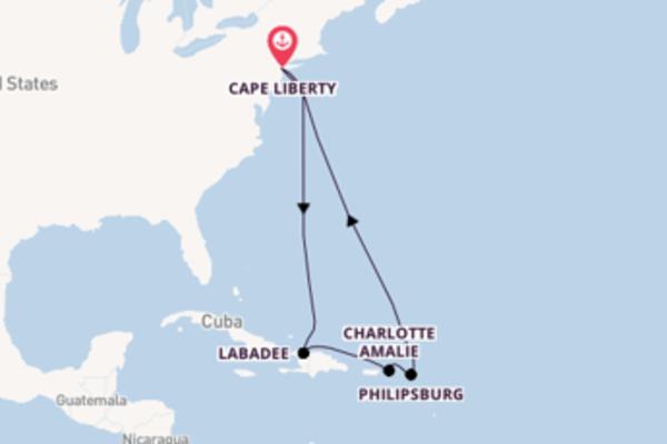 Viaggio di 10 giorni a bordo di Oasis of the Seas