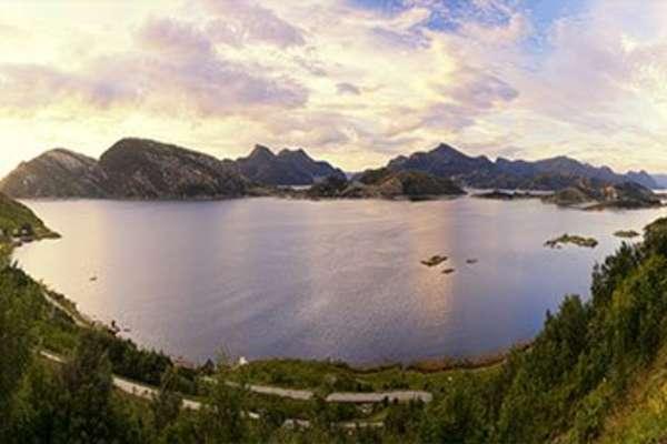Aurlandsfjord, Noorwegen