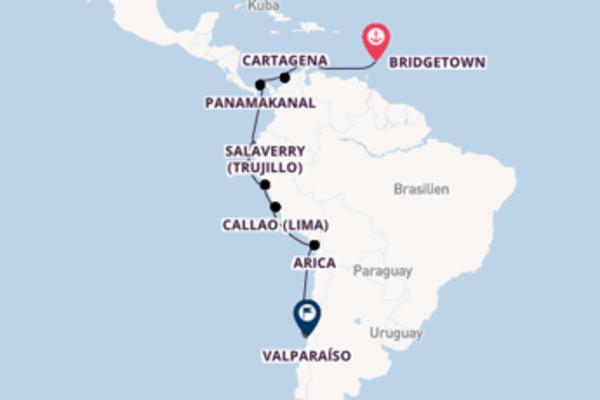 Einzigartige Kreuzfahrt über Willemstad/Curaçao ab Bridgetown