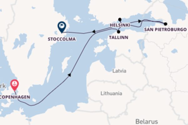 Piacevole viaggio di 8 giorni verso Tallinn a bordo di Seabourn Sojourn