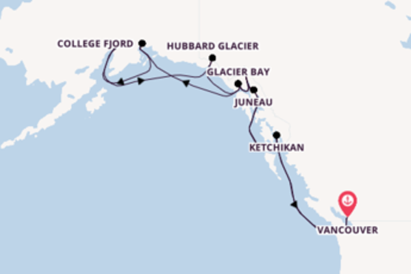Journey with Princess Cruises from Vancouver