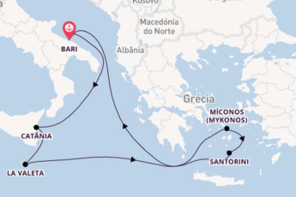 Admirável viagem até Bari