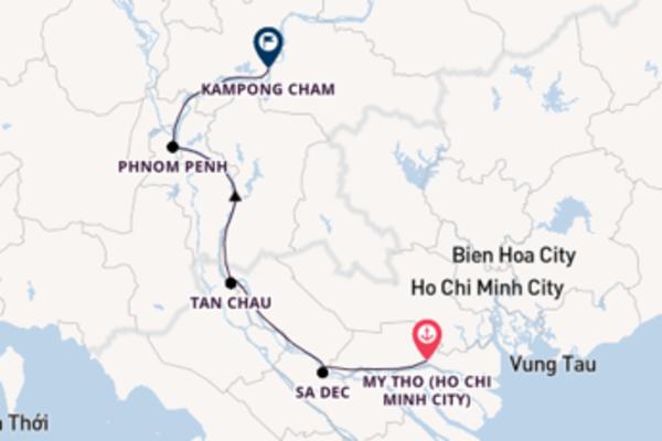 Mesmerising Ho Chi Minh City to mesmerising Hanoi (Halong Bay)