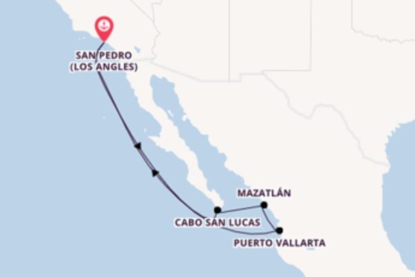 Incontournable balade de 8 jours au départ de San Pedro (Los Angles)