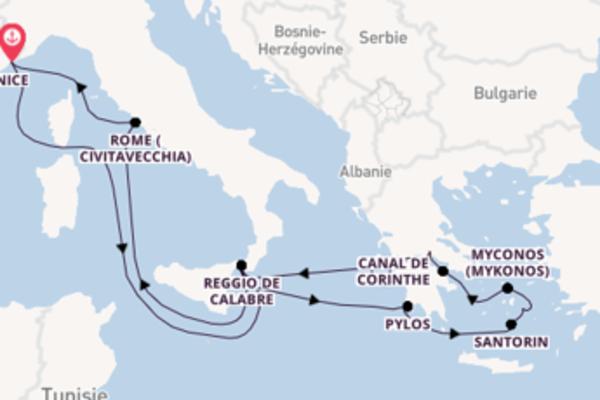 11 jours pour découvrir Myconos à bord du bateau FTI Berlin