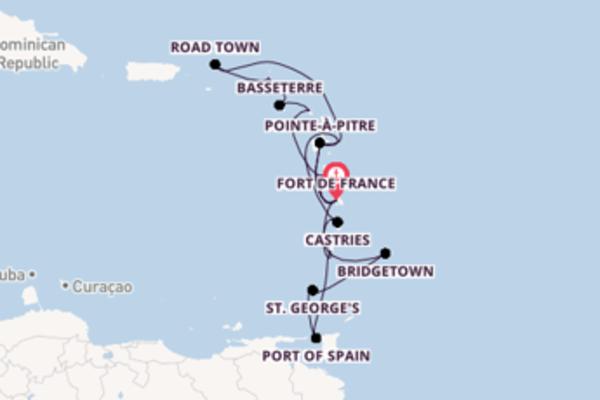 De pracht van het prachtige Port of Spain