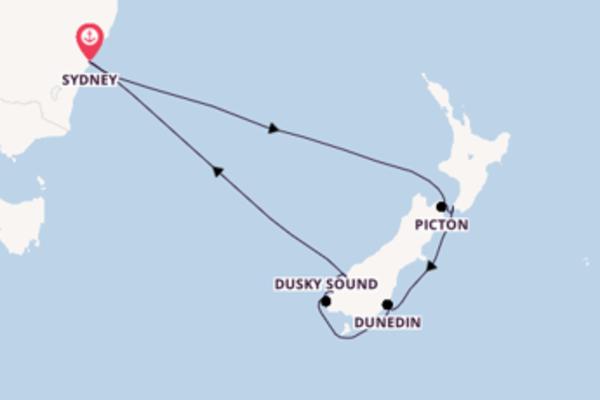 Passionante balade de 11 jours pour découvrir Milford Sound