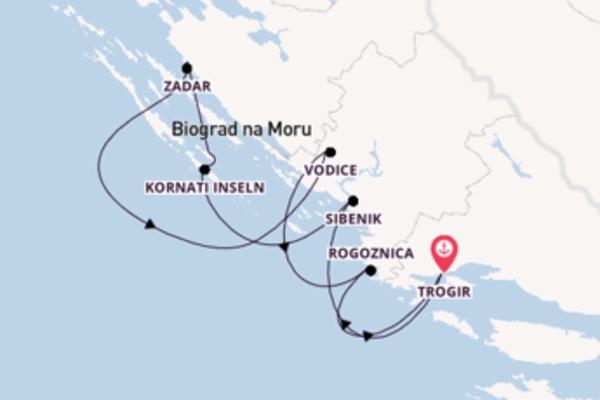 Erleben Sie Kornati Inseln ab Trogir
