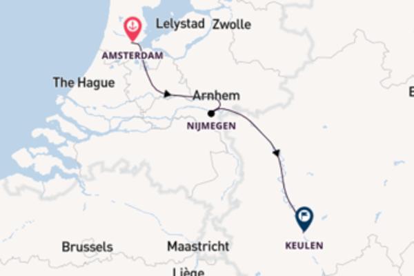3-daagse cruise vanaf Amsterdam