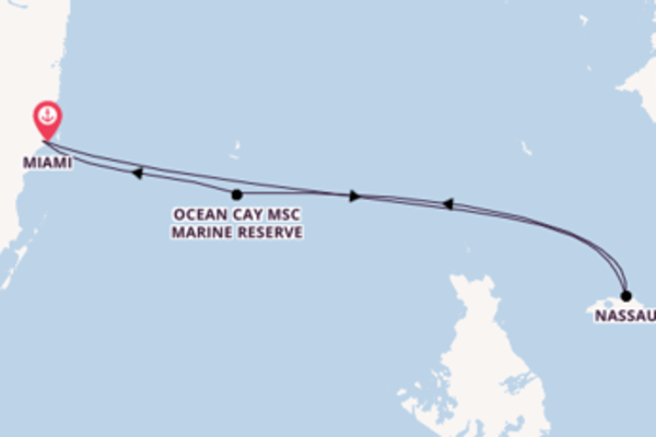 Expedition with MSC Cruises from Miami