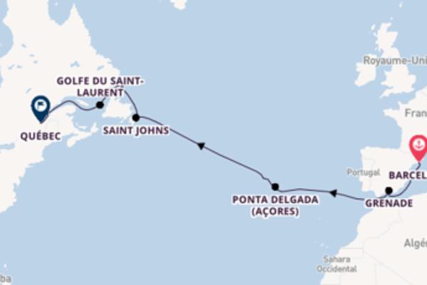 Incontournable croisière de 14 jours avec Crystal Cruises