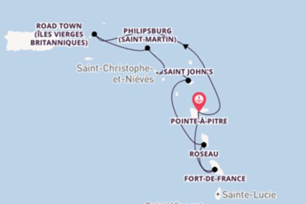 Envoutante balade de 8 jours à bord du bateau MSC Seaview