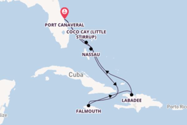 Sublime viagem de 8 dias com a Royal Caribbean