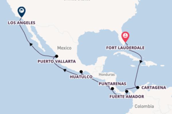 Ervaar Panamakanaal met Princess Cruises