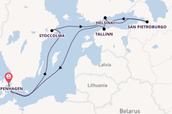 Scopri Helsinki partendo da Copenhagen