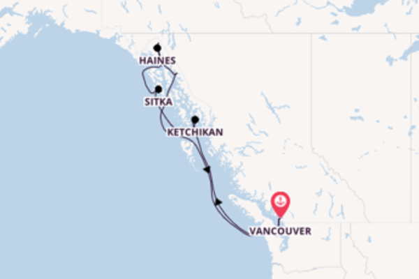 Journey with Royal Caribbean from Vancouver