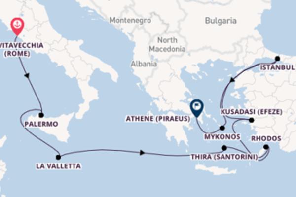 Beleef Rhodos met Norwegian Cruise Line