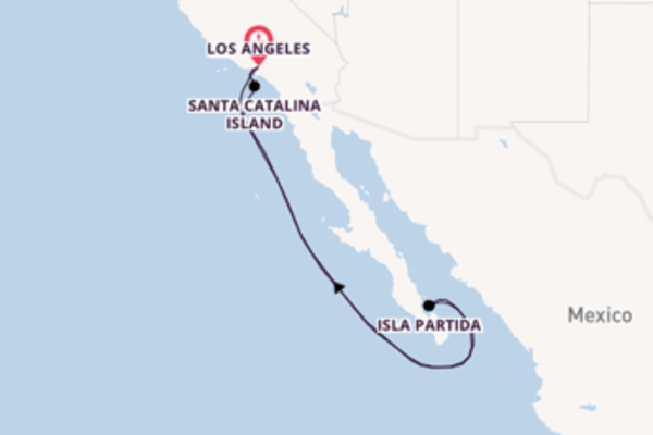5 day cruise with the Navigator of the Seas  to Los Angeles