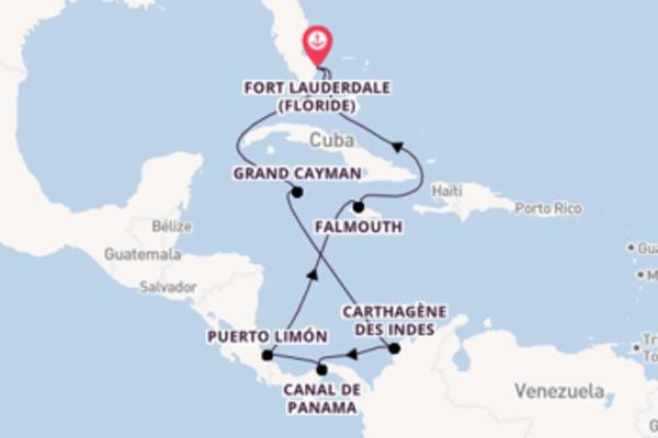 Croisière de 11 jours depuis Fort Lauderdale (Floride) avec Princess Cruises