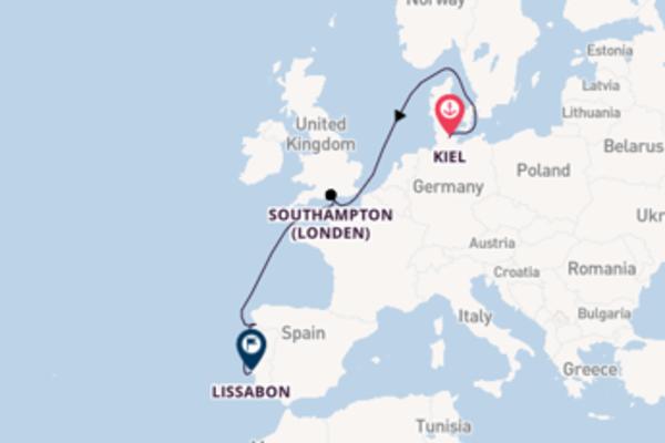Cruise in 7 dagen naar Lissabon met MSC Cruises