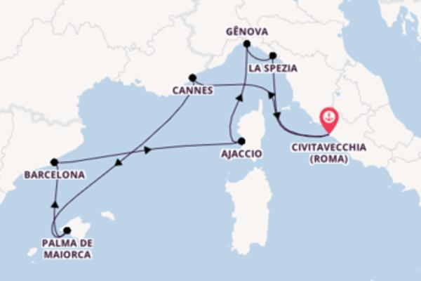 Relaxe a bordo do MSC Seaview em 8 dias