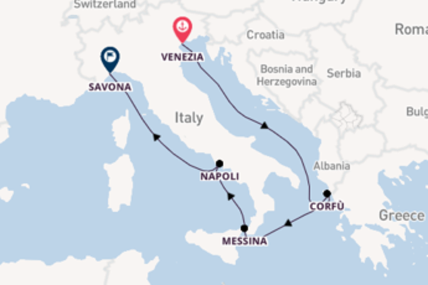 Non perdere Venezia, Napoli e Savona