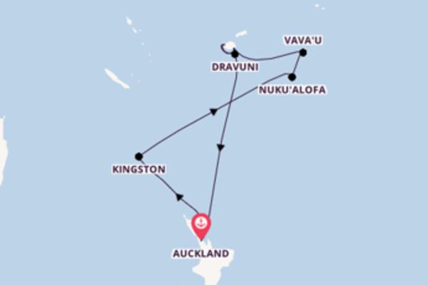 Cruising from Auckland via Suva